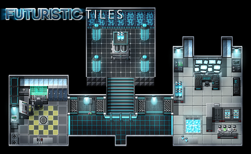Looking For Futuristic Tilesets Topic